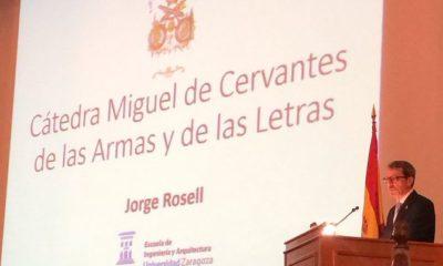 Jorge Rosell en el Ciclo de Conferencias Cátedra Cervantes