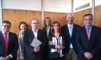 Nuria Alcalde en el Tribunal de Tesis Doctoral de J. M. Nogueira Ramírez en UCM
